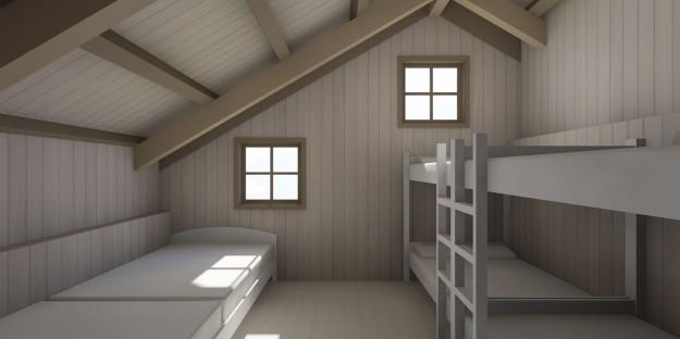 Barn Bunkhouse 01