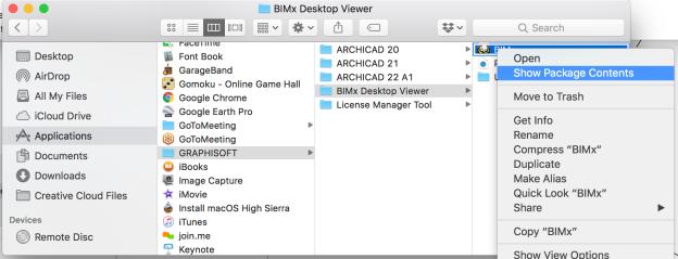 07 locate bimx files